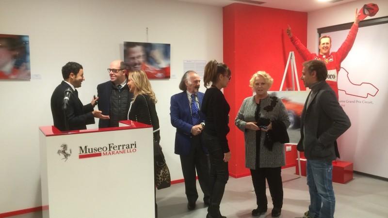 """.17 Ottobre 2015 – """"Museo Ferrari mostra d'Arte Creatività Vincente"""" Maranello"""
