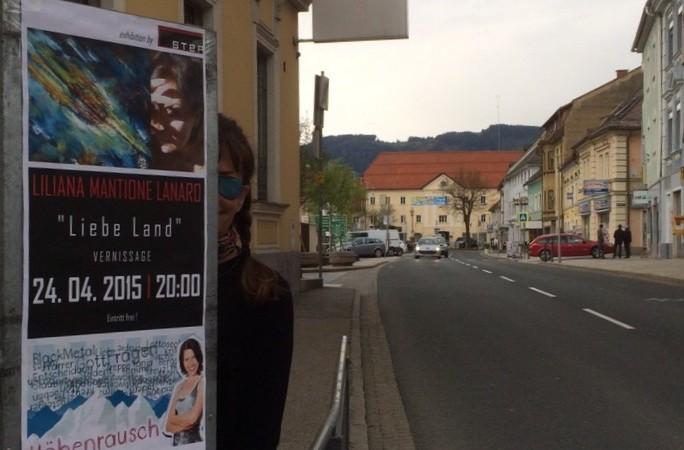""".24 aprile al 27 giugno-""""Liebe Land"""" Carinzia 2015 – Austria"""