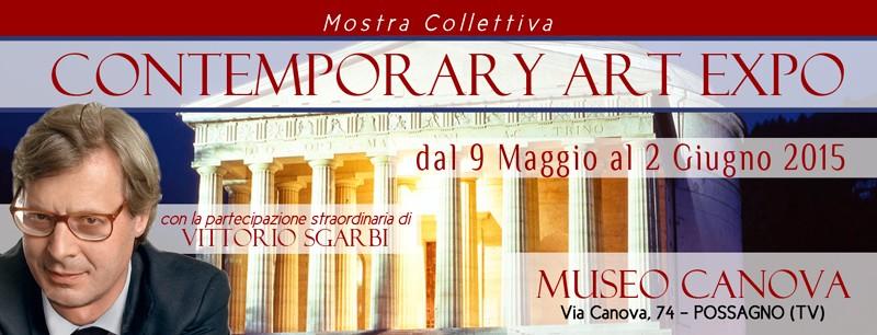 """.8 maggio al 2 giugno 2015 – """"Contemporary Art Expo"""" – Museo Canova"""