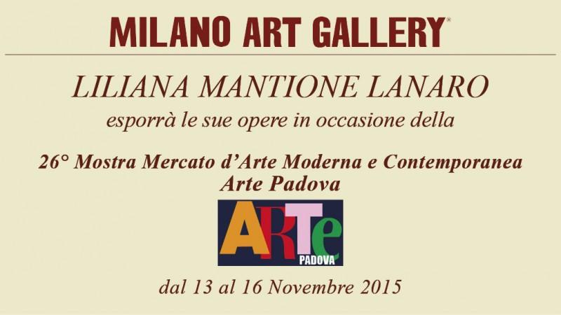 """.13 al 16 novembre 2015 -""""26° Mostra Arte Padova"""""""