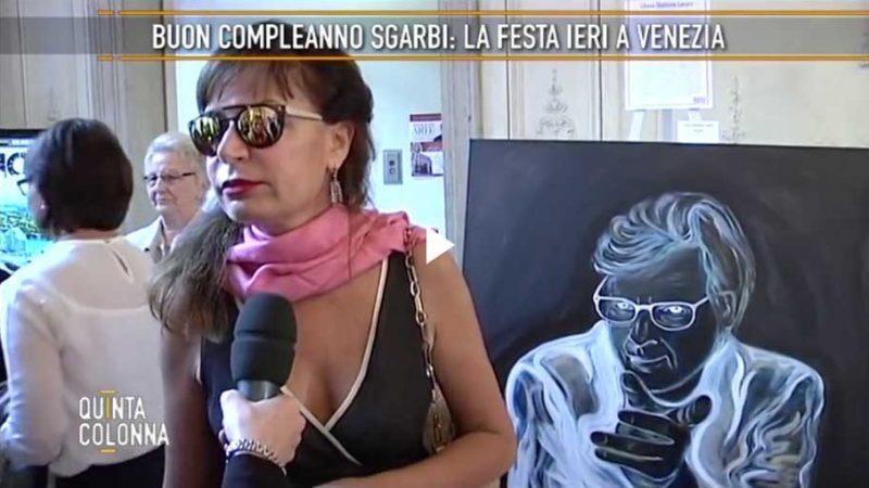 Buon Compleanno Sgarbi, la festa a Venezia